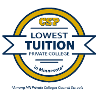CSP Lowest Tuition Badge